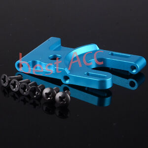 103071 103371 1:10 Aluminum Motor Mount +Screws HSP RC Car 03007 Upgrade Part