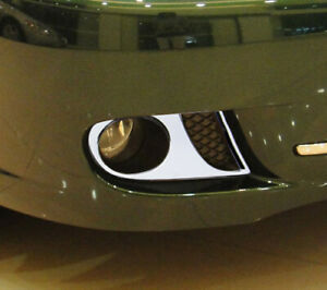Jaguar X Type 2008 Upwards Chrome Fog Lamps Trims