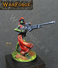 Figurine Compatible Warhammer 40K Assassine Nikita RESINE