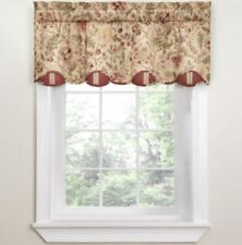 "*Waverly Imperial Dress Rod-Pocket Valance Window Curtain 52""Wx18""L Antique NEW"