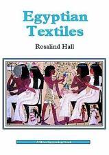 Egyptian Textiles (Shire Egyptology)-ExLibrary
