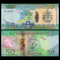 Salomonen / Solomon Islands 50 Dollars, 2013, P-35, Banknotes, UNC