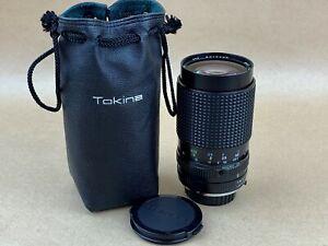 Tokina RMC 35-135mm f/4-4.5 Manual Focus Macro Lens Minolta MD Mount - CLEAN
