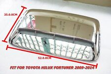 1PC TOYOTA HILUX VIGO FORTUNER 2004-2014 CHROME HOOD SCOOP COVER 35 X 32 CM