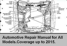 Automotive Workshop Manual Repair up to 2015