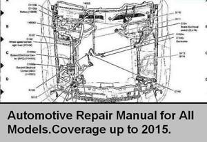 Automotive Workshop Manual Repair up to 2015