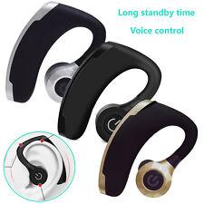Bluetooth Headset Wireless Stereo Earphone for Driver Trucker Business Office