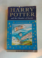 Harry Potter and the Chamber of Secrets (Paperback,2002) First Print (1/1)