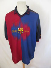 Maillot de football vintage FC Barcelone N° 11 RIVALDO Taille XXL
