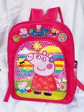 Peppa Pig Child backpack -girl Backpack -pink