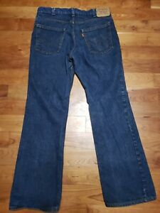 Vintage Levis Orange Tab Jeans 20517 0217 Mens Size 36 x 32 Made In USA
