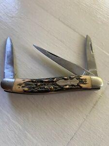Uncle Henry Vintage 3 Blade Pocket Knife Schrade 897UH