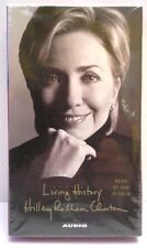 Hillary Rodham Clinton Living History (2003, E-book) 4 Cassette Tapes