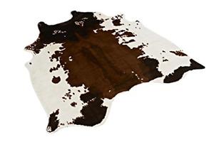 textilerfromchina Cow Print Rug 4.1x4.2 Feet faux Cow hide rug Animal printed
