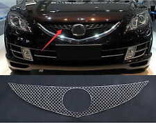 Car Mesh Front Centre Grille Cover Steel Honeycomb Shape For Mazda 6 M6 2009-11