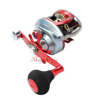 Baitcasting Reel Right Hand 7.1:1 High Speed Smooth 18lb Drag Saltwater Fishing