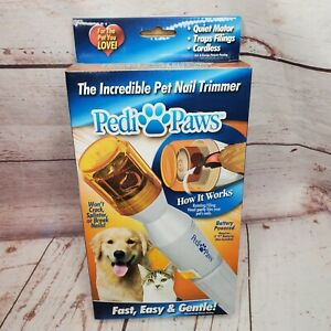 Pedi Paws Pedi Paws Platinum Dog Cat Claw Pet Nail file Trimmer