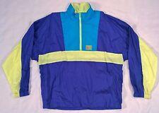 Vintage Asics A6 GEL 1/2 Zip Pullover Windbreaker Jacket Men's Large