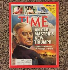 Time Magazine December 31 1984 - Images Photos Pictures of the Year - David Lean