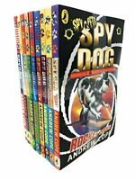 Andrew Cope Collection Spy Dog Series 9 Books Collection Set Brainwashed New PB