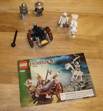 Lego Castle Crossbow Attack Set 7090 100% Complete With Instructions
