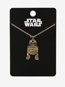 star wars swivel r2d2 necklace