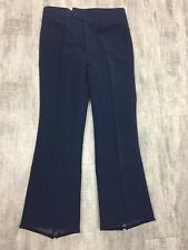 Men's Obermeyer Navy Blue Vintage Wool Blend Snowboard Ski Snow Pants Size 32