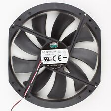 Cooler Master | 230x200mm Refurbished Black 3-Pin Case Fan | FA23030M12SFC