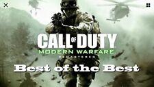 Modern Warfare 1 & 2 Achievement Package XBOX ONE ONLY