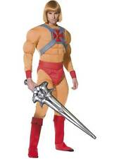 "He Man/Prince Adam Costume,  Chest 38""-40"", He-Man Licensed Fancy Dress #AU"