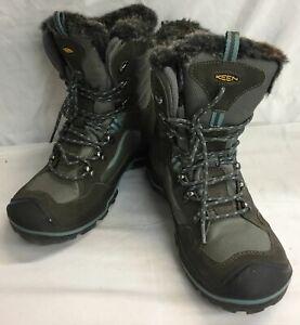 Mens Keen Gray Summit County Waterproof Boots 9.5
