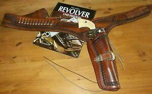 Westernholster Leder Revolvergürtel