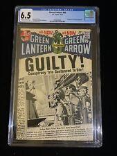 "DC COMICS: GREEN LANTERN #80, 10/70, CGC 6.5, ""Guardians of the Universe"", 8004"