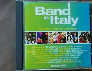 CD  BAND IN ITALY - canzoni per le vacanze