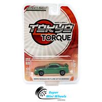 Greenlight 1:64 Tokyo Torque Series 3 -2000 Nissan Skyline GT-R R34 (Green)