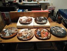 Norman Rockwell  Collector Plates, Set of 6 in excellent cond.