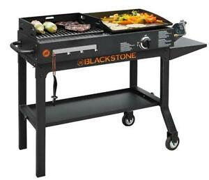 """Blackstone Duo 17"""" Griddle and Charcoal Grill Combo"""
