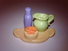 Food Tray Pitcher Bottle Snacks Fisher Price Loving Family