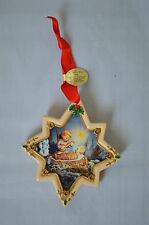 "Danbury Mint The M.J. Hummel ""Heavenly Lullaby"" Porcelain Collector Ornament #M"