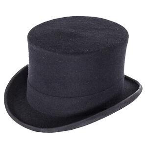 Christys' Hats Wool Top Hat - Black