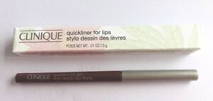 BNIB CLINIQUE Quickliner For Lips shade 50 Figgy Full size Nude Brown Lipliner