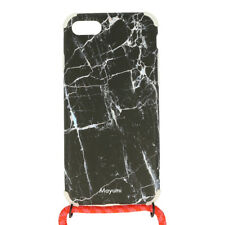 Mayumi iPhone 7/8 Necklace case Marble on fire Funda protectora móvil cadena funda de móvil