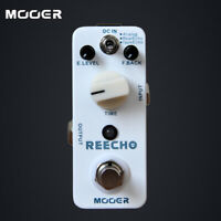 Mooer Reecho Micro Digital Delay Electric Guitar Effect Pedal True Bypass Echo