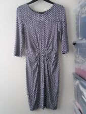 Ladies BNWOT Warehouse Bird Print Dress Size 10 (W)