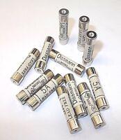 Domestic household fuses plug mains cartridge 25mm 1A,2A,3A,5A,7A,10A,13A BS1362