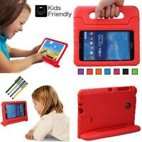 """7"""" 8"""" Kids EVA Foam Shockproof Tablet Case Cover for Samsung Galaxy Tab 3 4 A E"""
