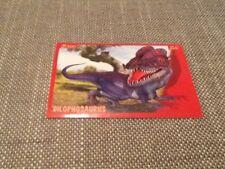 #128 Panini Dinosaurs Like Me sticker / unused / Dilophosaurus