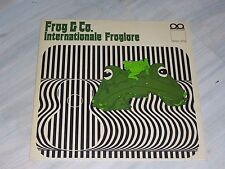 FROG & Co. - International Froglore / Private, german Krautfolk LP, autographed