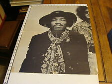 vintage music poster/broadside: Scarce Hendrix Poster electric last minute 1968