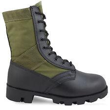 Mil-Tec US Panama Military Assault Combat Lightweight Jungle BOOTS Olive UK 5 / EU 39